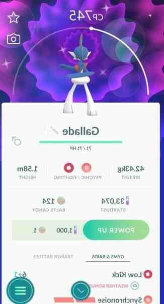 Comment obtenir Gallame dans Pokémon